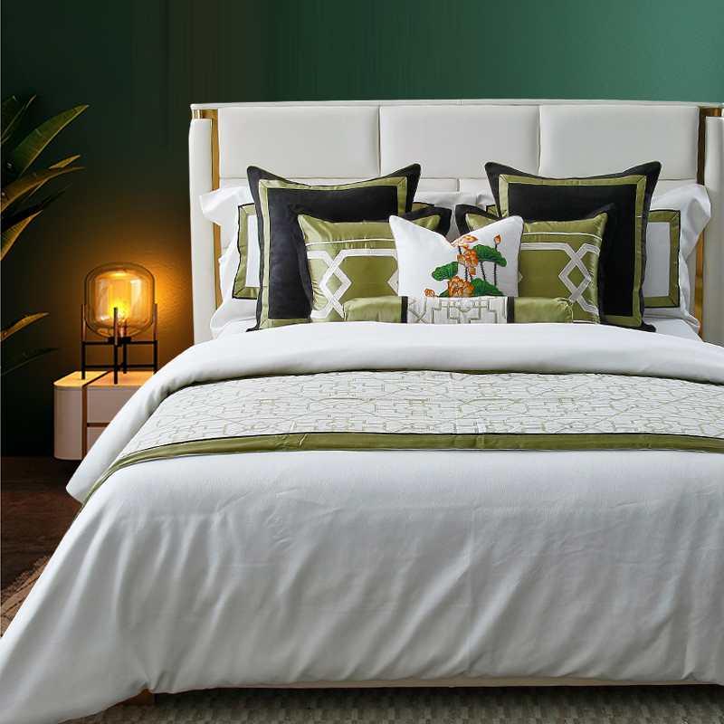 LW-060=YF-058美式轻奢样板房样板间床上用品