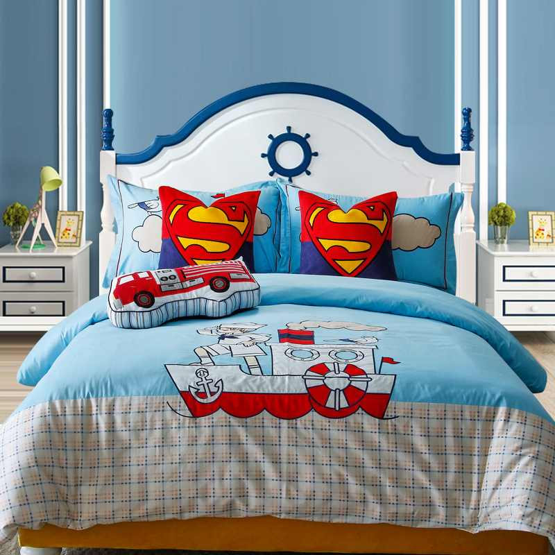家具摆场样板间儿童床品多件套