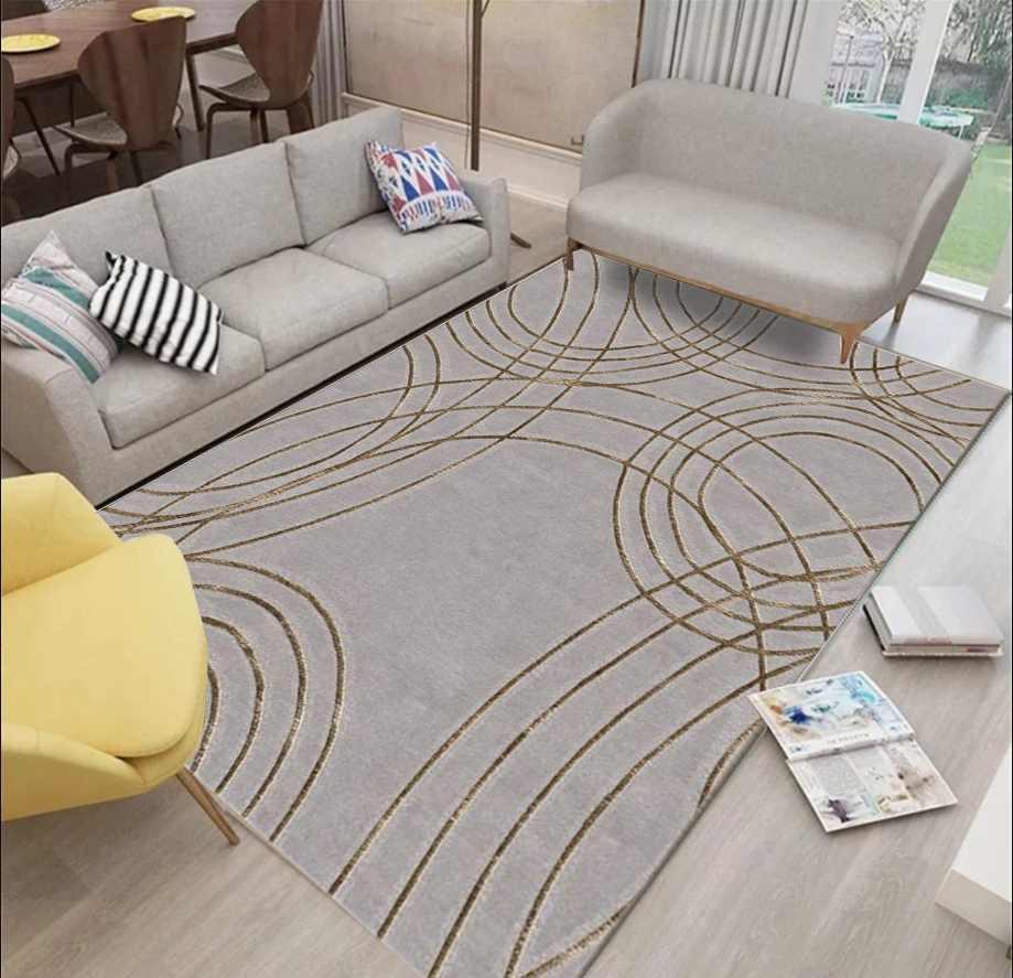 现代简约手工地毯AY-014