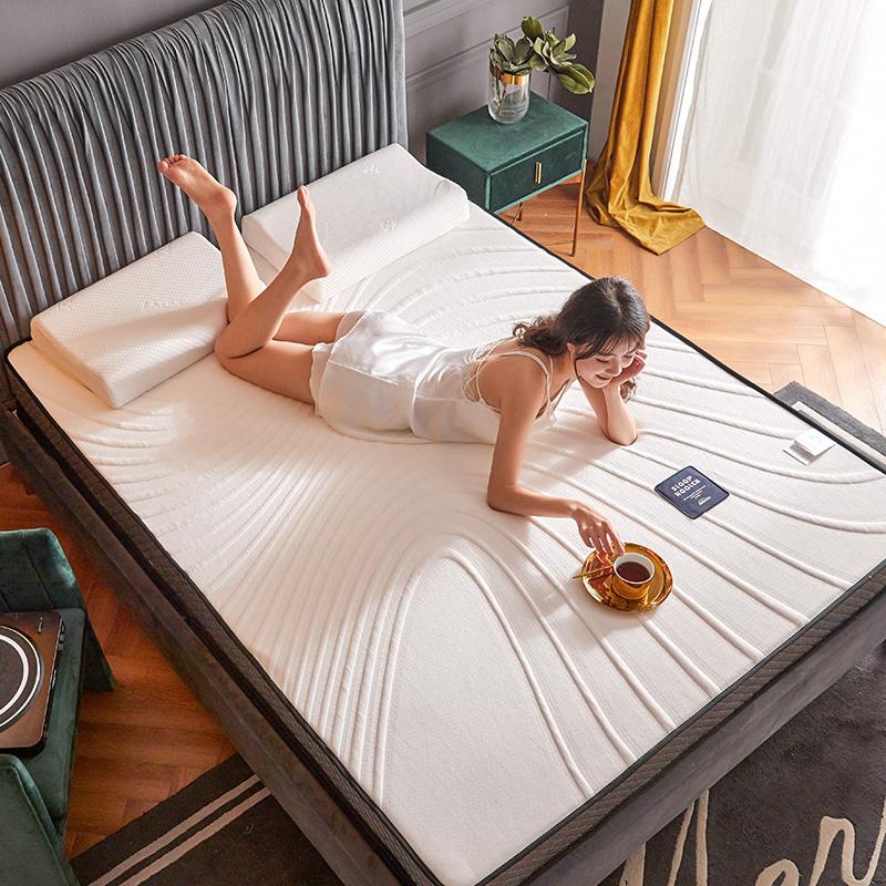 2020新款浮雕针织棉乳胶功能床垫K02-05