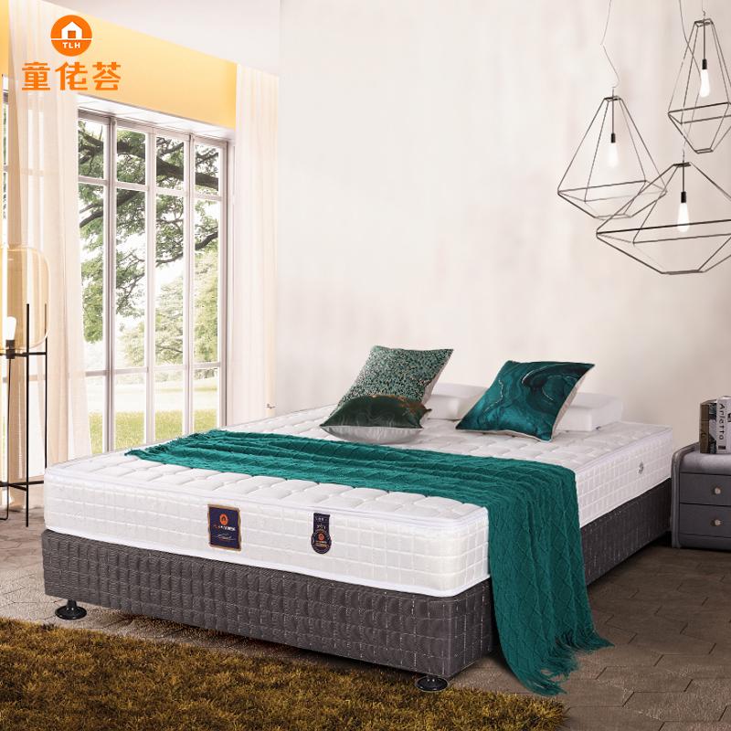 新婚主卧双人大床环保棕弹簧床垫可拆洗TM004