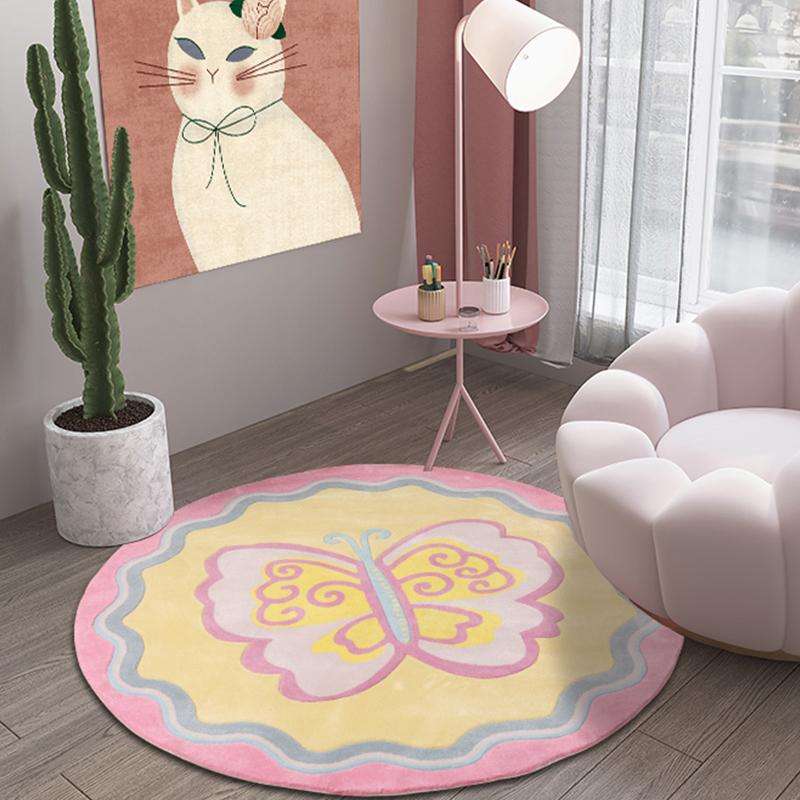KM-JL002可爱卡通儿童手工地毯