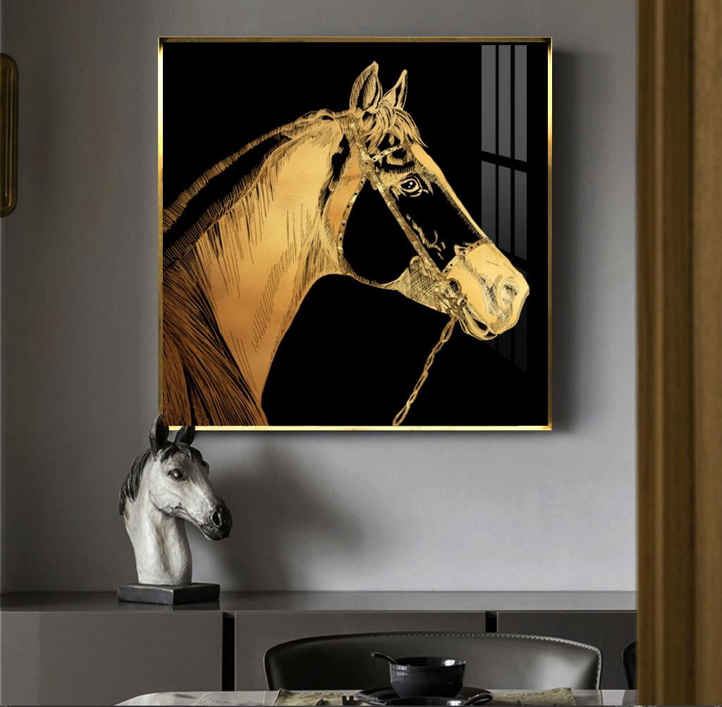 3170018艺术轻奢现代画-马头