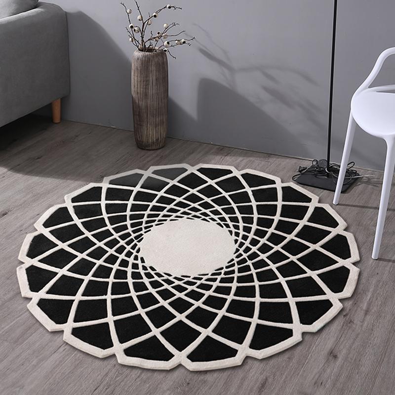 KM-JL004可爱卡通儿童手工地毯