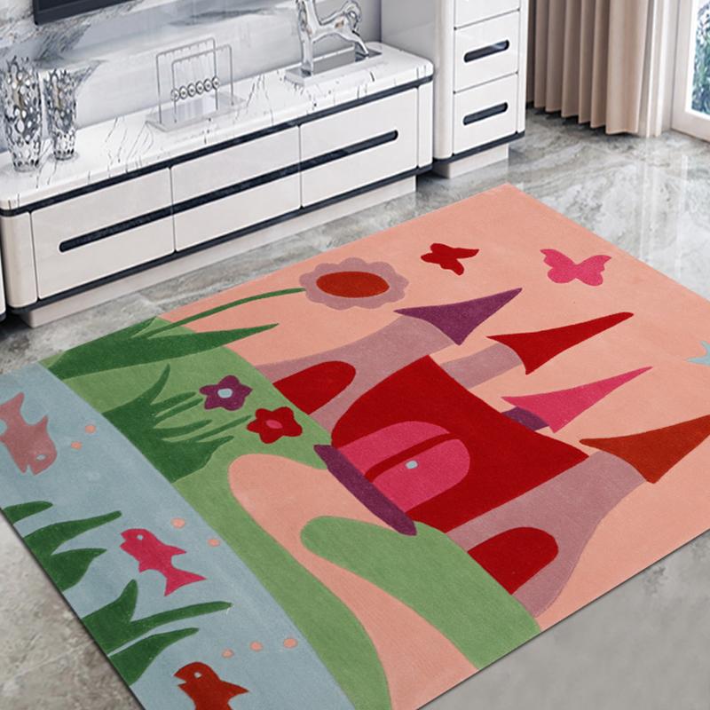 JL-032儿童手工地毯
