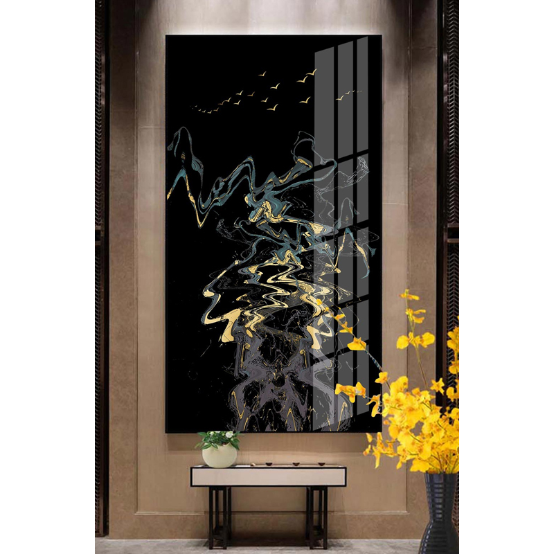 轻奢玄关抽象晶瓷挂画3170097