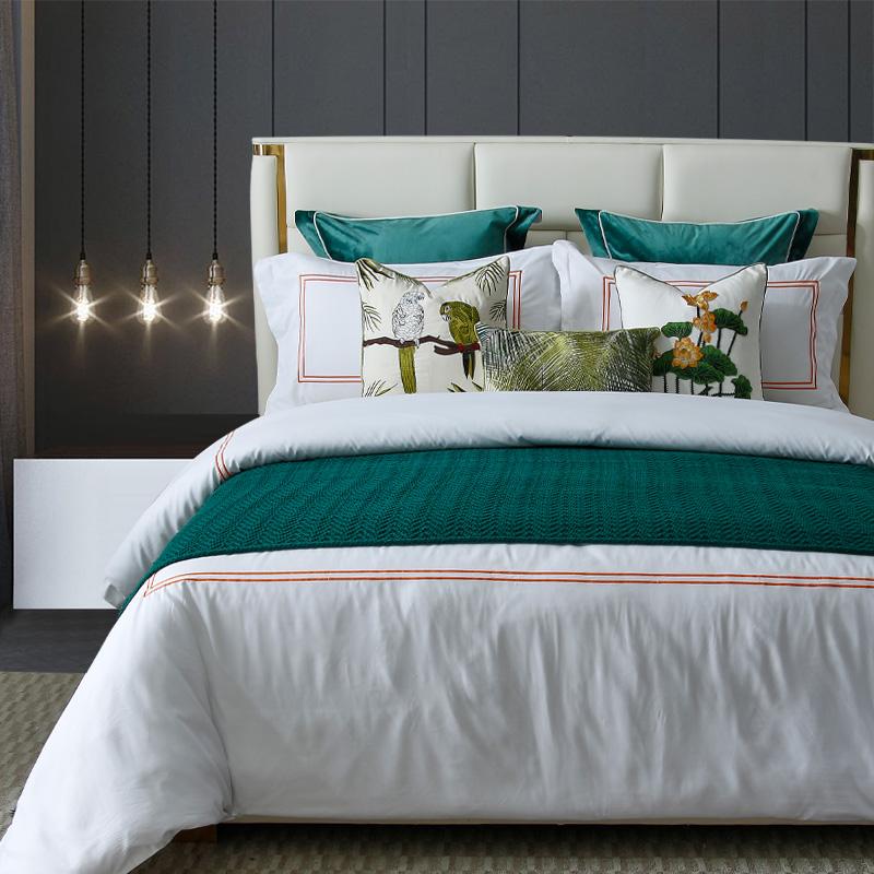 LW-072美式样板房样板间床上用品