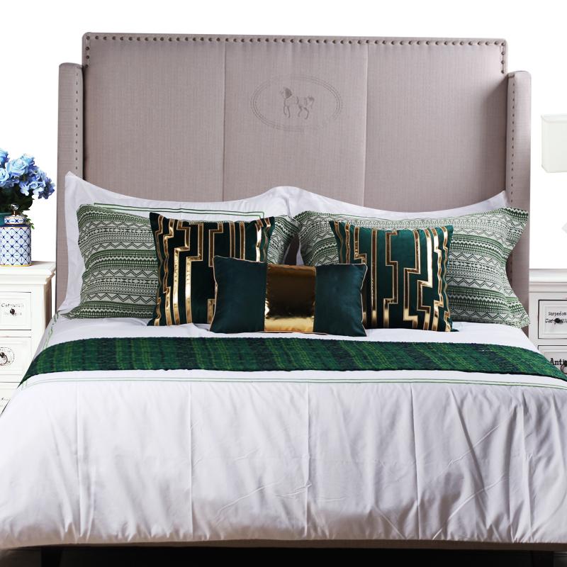 MS-101美式轻奢样板房样板间床上用品