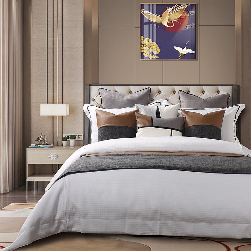 简约轻奢床上用品多件套系列LW-QS158