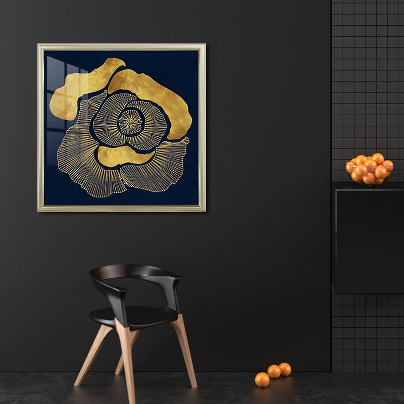 现代简约入户玄关挂画抽象卧室客厅高端壁画挚爱