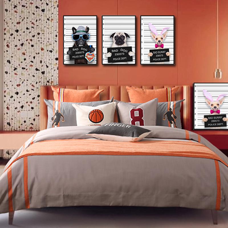 简约轻奢多件套床上用品儿童系列LQ-RT335